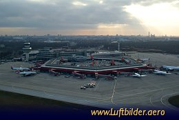 Aerial photo Berlin-Tegel Airport