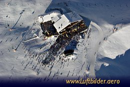 Aerial photo Giggijoch Alp