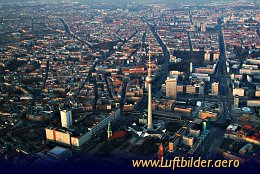 Aerial photo Berlin Alexanderplatz