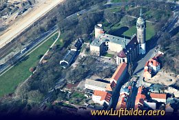 Aerial photo Wittenberg Castle