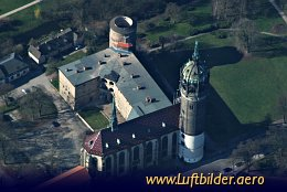 Aerial photo Schloss Wittenberg