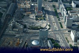 Aerial photo Alexanderplatz