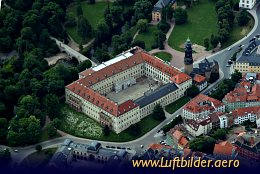 Aerial photo Weimar Castle