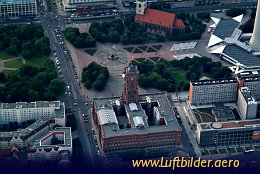 Aerial photo Rotes Rathaus