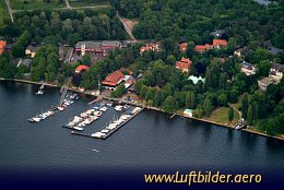 Aerial photo Wannsee Marina