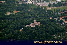 Aerial photo Belvedere Palace
