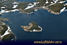 Aerial photo South-Norwegian Highland