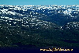 Aerial photo Mountains near Stavanger