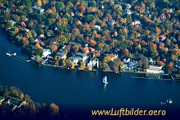 Aerial photo River Dahme