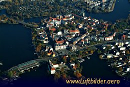 Aerial photo Köpenick Old Town