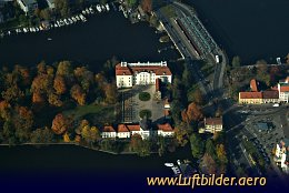 Aerial photo Köpenick Castle