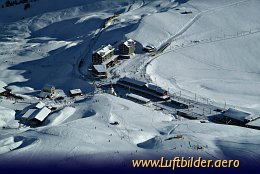 Aerial photo Little Scheidegg