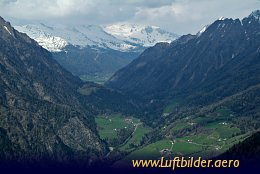 Aerial photo Brenner Pass
