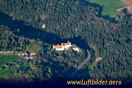 Aerial photo Rabenstein castle