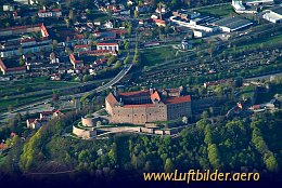 Aerial photo Plassenburg Castle
