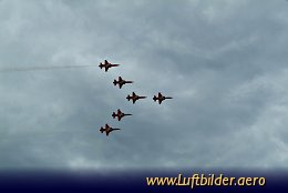 Aerial photo ILA 2006 - Patrouille Suisse