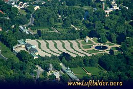 Aerial photo Sanssouci Palace
