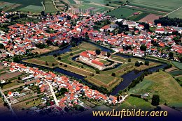 Aerial photo Heldrungen Castle