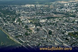 Aerial photo Blois - City of Kings