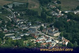 Aerial photo Chateau de Fougeres-sur-Bievre
