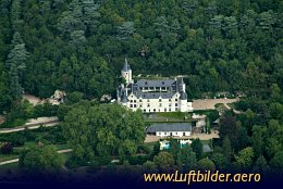 Aerial photo Chateau de Chissay