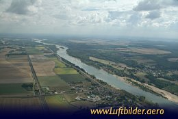 Aerial photo Loire River