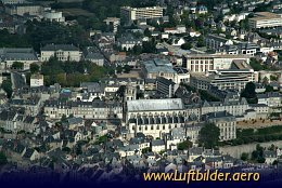 Aerial photo Chateau de Blois