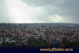 Aerial photo Speyer Cathedral