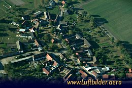 Aerial photo Wendish Round Village