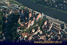 Aerial photo Meissen Cathedral