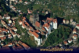 Aerial photo Albrechtsburg Castle