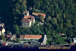Aerial photo Kuckuckstein Castle