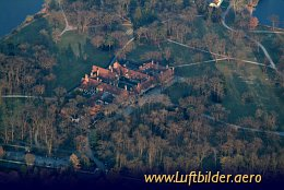 Aerial photo Cecilienhof Palace