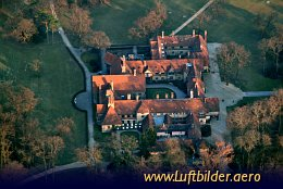 Aerial photo Cecilienhof Castle