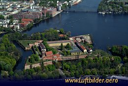 Aerial photo Spandau Citadel