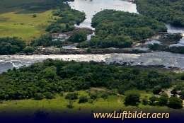 Aerial photo Carrao River