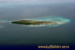 Aerial photo Los Roques