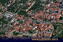 Aerial photo Quedlinburg