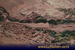 Aerial photo Ait Ben Haddou