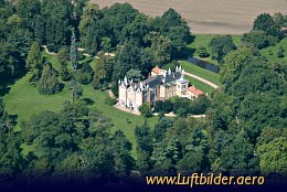 Aerial photo Gothic House