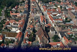 Aerial photo Historic center of Wittenberg