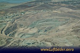 Aerial photo Orapa Diamond Mine